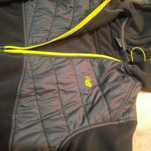 NEW BALANCE exercise/ running Fleece jacket